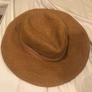 Madewell Packable Mesa Papier Tan Brim Hat (M-L)